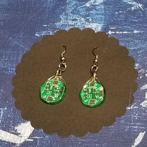 Used, Motherboard Earrings for sale